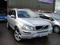 USED 2011 61 VOLVO XC90 2.4 D5 R-DESIGN AWD 5d AUTO 200 BHP ANY PART EXCHANGE WELCOME, COUNTRY WIDE DELIVERY ARRANGED, HUGE SPEC