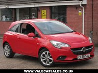 USED 2016 66 VAUXHALL CORSA 1.2 CDTI ENERGY (1 OWNER+VAUXHALL HISTORY) 3dr GREAT SPEC WITH HEATED SEATS AND BLUETOOTH