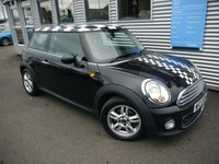USED 2013 13 MINI HATCH ONE 1.6 ONE PEPPER  3d 98 BHP