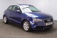USED 2011 61 AUDI A1 1.6 TDI SE 3DR 103 BHP SERVICE HISTORY + FREE 12 MONTHS ROAD TAX + AIR CONDITIONING + DAB RADIO + ELECTRIC WINDOWS + ELECTRIC MIRRORS + 15 INCH ALLOY WHEELS