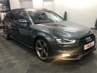 2013 AUDI A4 2.0 AVANT TDI BLACK EDITION 5d 141 BHP £SOLD
