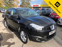 2010 NISSAN QASHQAI 1.6 N-TEC 5d 113 BHP IN METALLIC BLACK WITH ONLY 72000 MILES, GREAT SPEC AND IS ULEZ COMPLIANT £5299.00