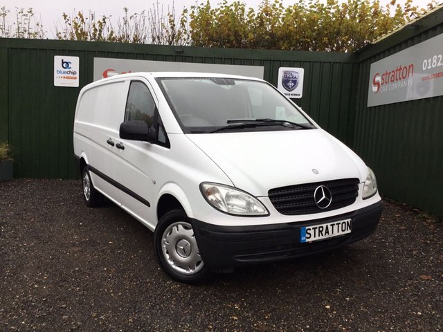 2010 60 MERCEDES-BENZ VITO 2.1 111 CDI LONG SWB 116 BHP