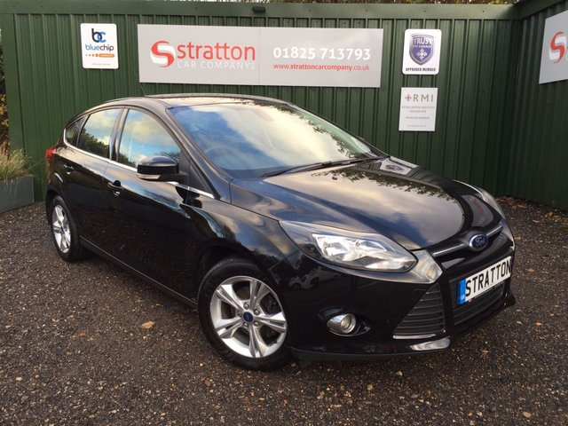2013 63 FORD FOCUS 1.0 ZETEC 5d 124 BHP ONLY £30.00 ROAD TAX