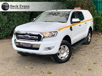 USED 2018 18 FORD RANGER 2.2 LIMITED 4X4 DCB TDCI 4d 158 BHP