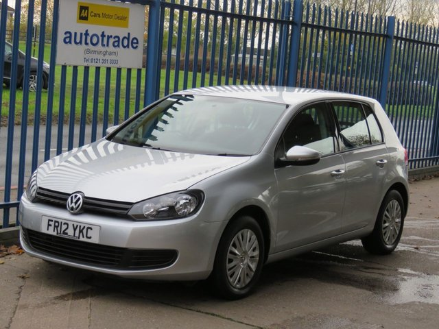 USED 2012 12 VOLKSWAGEN GOLF 1.2 S TSI 5dr Air con CD player