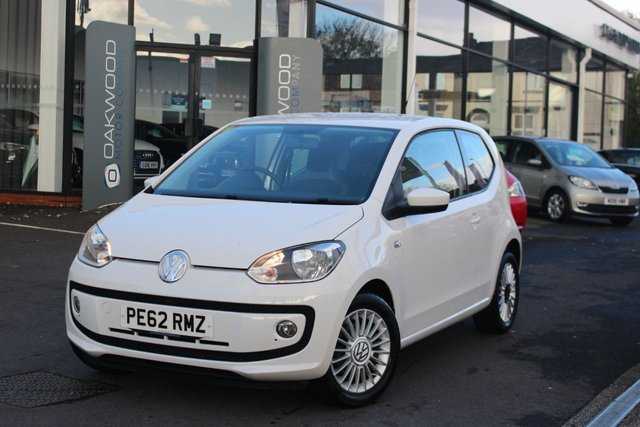 USED 2012 62 VOLKSWAGEN UP 1.0 High up! 3dr