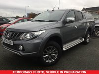 USED 2018 18 MITSUBISHI L200 2.4 DI-D 4WD BARBARIAN 5 Seat Double Cab Lifestyle Pickup with Massive High Spec inc Rear Canopy Side Steps Heated Leather Seats and much more  ONE REGISTERED KEEPER