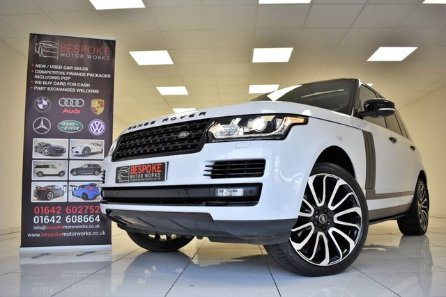 2017 17 LAND ROVER RANGE ROVER 3.0 TDV6 VOGUE AUTOMATIC