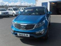 2012 KIA SPORTAGE 1.7 CRDI 2 5d 114 BHP £8495.00