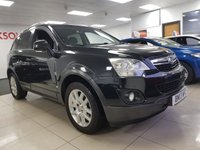 USED 2013 13 VAUXHALL ANTARA 2.2 EXCLUSIV CDTI 4WD S/S 5d+NEW CLUTCH FLY WHEEL+SERVICE HISTORY+HEATERD LEATHER SEATS