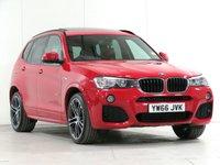 2016 BMW X3 2.0 xDrive20d M Sport 5d Auto [£7,590 OPTIONS] £21989.00