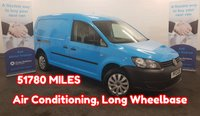2013 VOLKSWAGEN CADDY MAXI C20 TDI 1.6 C20 TDI STARTLINE 101 BHP LONG WHEELBASE, One Company Owner From New (EX BRITISH GAS) Low Mileage (51780), Air Con and more £5980.00