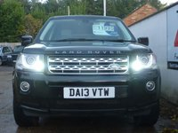USED 2013 13 LAND ROVER FREELANDER 2.2 SD4 HSE LUXURY 5d AUTO 190 BHP LUX PACK,PRIVACY GLASS,SUNROOF,IVORY LEATHER.