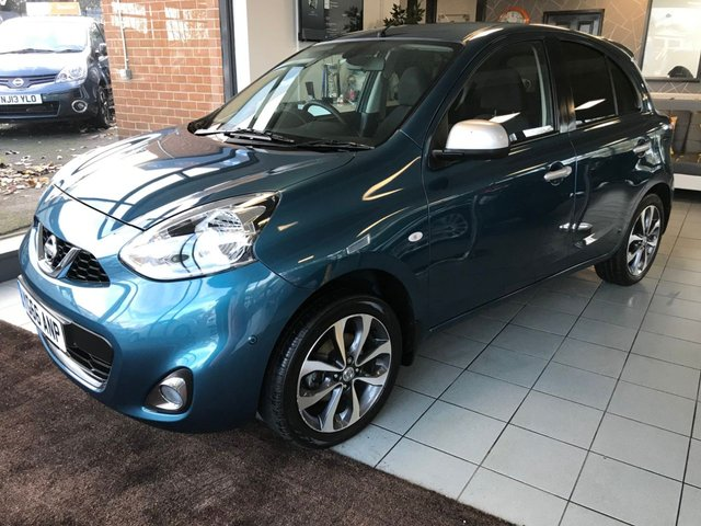 USED 2016 66 NISSAN MICRA 1.2 N-TEC 5d 79 BHP **GREAT SPECIFICATION**1 OWNER+SUPPLYING DEALER**
