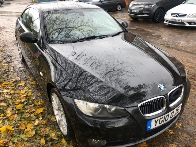 USED 2010 10 BMW 3 SERIES 3.0 325I SE 2d 215 BHP COUPE FULL CREAM LEATHER