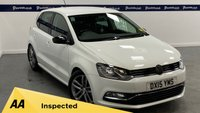 USED 2015 15 VOLKSWAGEN POLO 1.2 SE DESIGN TSI 5d 90 BHP (BLUETOOTH PHONE AND MEDIA - £20 ROAD TAX)