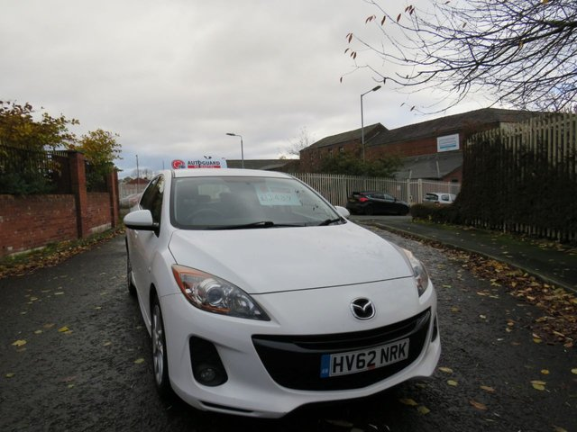 USED 2012 62 MAZDA 3 1.6 TAMURA D 5d 113 BHP A GREAT ECONOMICAL VEHICLE