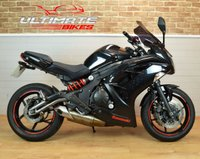 USED 2013 63 KAWASAKI ER-6F (EX650 ECF) 650CC COMMUTER, LESS THAN 10K MILES