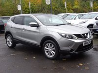 USED 2015 64 NISSAN QASHQAI 1.5 DCI ACENTA PLUS 5d 108 BHP NAV*PAN SUNROOF*LOW MILEAGE FSH*HIGH SPEC