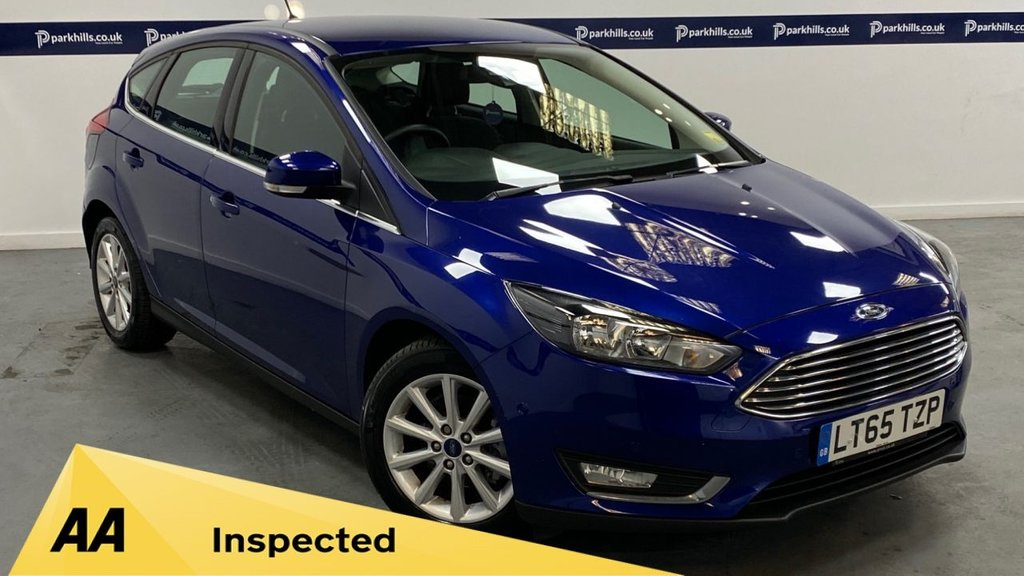 USED 2015 65 FORD FOCUS 1.5 TITANIUM TDCI 5d 120 BHP (ZERO ROAD TAX)