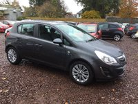 USED 2012 62 VAUXHALL CORSA 1.2 SE 5d 83 BHP GREAT LOW MILEAGE EXAMPLE WITH FULL MAIN DEALER SERVICE HISTORY