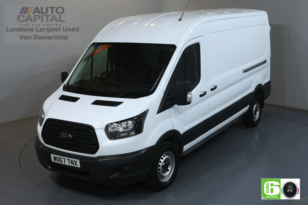 USED 2017 67 FORD TRANSIT 2.0 350 RWD L3 H2 129 BHP EURO 6 ENGINE ONE OWNER, SERVICE HISTORY