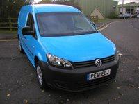 USED 2011 61 VOLKSWAGEN CADDY MAXI 1.6 C20 TDI 101 BHP Van - NO VAT Air Con, Electric WIndows, 74000 miles,