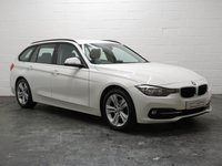 USED 2016 66 BMW 3 SERIES 2.0 320D ED SPORT TOURING 5d AUTO 161 BHP 1 OWNER + BMW SERVICE HISTORY + FULL HEATED LEATHER + SAT NAV