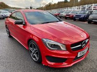 USED 2015 65 MERCEDES-BENZ CLA 2.1 CLA 200 D AMG LINE 4d 134 BHP Big screen sat Nav with reversing camera, AMG LINE Package ++