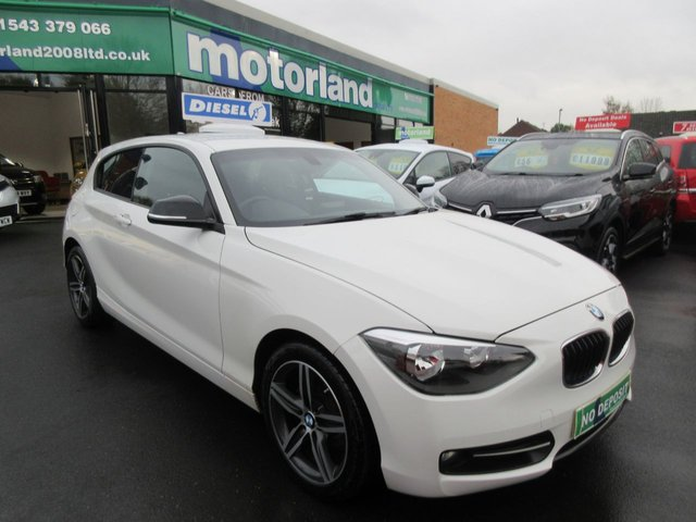 USED 2014 14 BMW 1 SERIES 2.0 116D SPORT 3d 114 BHP ** 01543 379066 ** JUST ARRIVED ** FULL SERVICE HISTORY **