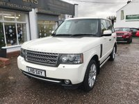 USED 2010 10 LAND ROVER RANGE ROVER 3.6 TDV8 VOGUE 5d AUTO 271 BHP FULL SERVICE HISTORY-SAT NAV-REAR DVD PLAYER-HEATED SEATS