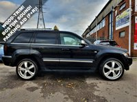 USED 2006 56 JEEP GRAND CHEROKEE 3.0 V6 CRD OVERLAND 5d 215 BHP! p/x welcome! AUTOMATIC! XENON ANGEL EYES! TOUCH STEREO! HEADREST DVD/GAME PLAYER WITH HEADPHONES & REMOTE! ELECTRIC MEMORY HEATED LEATHER SEATS! ELECTRIC SUNROOF! REAR DVD PLAYER!  22in ALLOY WHEELS! USB PORT! BLUETOOTH! WOOD TRIM! PARKING AID (FRONT+REAR)! 72K MILES ONLY! 2 F/KEEPERS! BOSTON SOUND SYSTEM! CRUISE & CLIMATE CONTROL! FULL SERVICE HISTORY! FINANCE AVAILABLE! NEW MOT & SERVICE! AA WARRANTY & BREAKDOWN COVER! NATIONWIDE DELIVERY AVAILABLE! XENON+DVD PLAYERS+22in ALLOYS+LEATHER+SUNROOF+72K MILES+AUTO+FSH+B/TOOH+USB+FINANCE & DELIVERY AVB+AA WARRANTY!