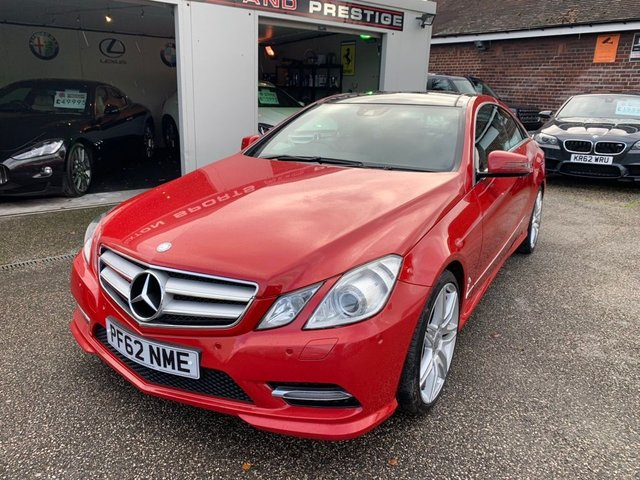 MERCEDES-BENZ E CLASS at Euxton Sports and Prestige