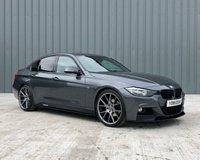 2015 BMW 3 SERIES 2.0 320D M SPORT 4d AUTO 181 BHP £11450.00