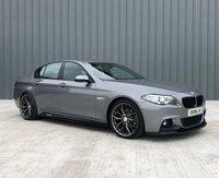 2015 BMW 5 SERIES 2.0 520D M SPORT 4d AUTO 188 BHP £12995.00