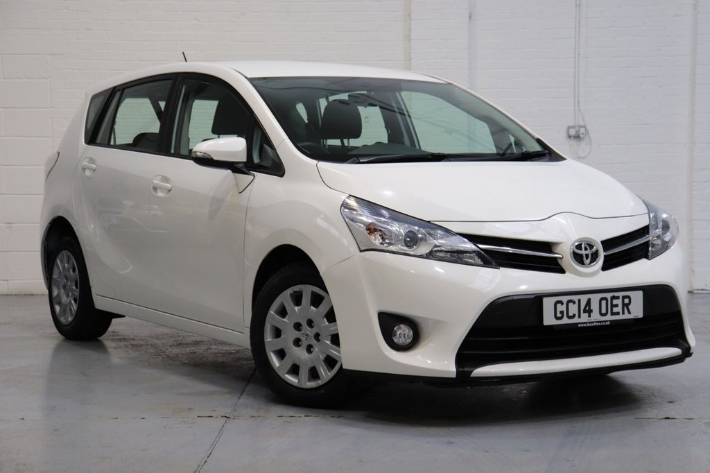 USED 2014 14 TOYOTA VERSO 1.6 D-4D ACTIVE 5d 110 BHP 1 Owner + Full Toyota History