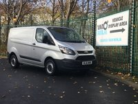 USED 2016 16 FORD TRANSIT CUSTOM 2.2 290 LR P/V 124 BHP SatNav/ Heated Seats Full specs