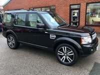 USED 2013 63 LAND ROVER DISCOVERY 3.0 SDV6 HSE LUXURY 5DOOR AUTO 255 BHP