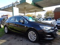 2014 VAUXHALL ASTRA 1.7 EXCITE CDTI 5d 108 BHP ONE FORMER KEEPER £4995.00