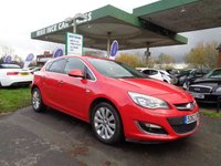 USED 2012 62 VAUXHALL ASTRA 1.6 ELITE 5d 113 BHP ONE FORMER KEEPER
