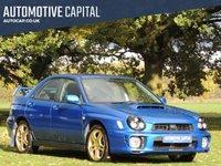 2002 SUBARU IMPREZA 2.0 WRX TURBO AWD 4d 268 BHP £6190.00