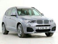 2016 BMW X3 3.0 xDrive30d M Sport DESIGN Auto [£8,395 OPTIONS] £22670.00