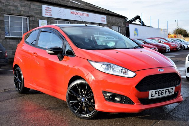 2016 66 FORD FIESTA 1.0 ZETEC S RED EDITION 3d 140 BHP