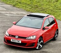 USED 2015 15 VOLKSWAGEN GOLF 2.0 TSI BlueMotion Tech GTI (Performance pack) (s/s) 5dr PAN ROOF! SAT NAV! PERFORM PAK