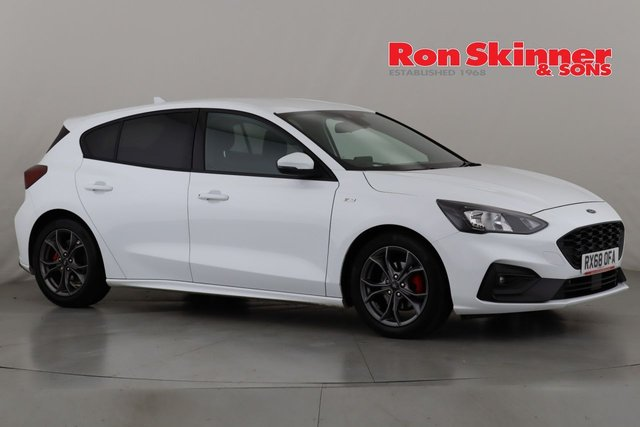 View our 2018 68 FORD FOCUS 1.0 ST-LINE 5d 124 BHP