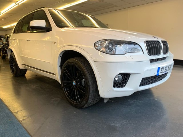 USED 2011 61 BMW X5 3.0 XDRIVE30D M SPORT 5d 241 BHP PANORAMIC OPENING ROOF, FULL MAIN DEALER SERVICE HISTORY, STOP/START, XENON HEADLIGHTS