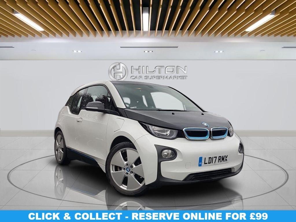"USED 2017 17 BMW I3 0.6 I3 RANGE EXTENDER 5d AUTO 168 BHP  Navigation System,19"" Alloy Wheels, Parking Sensor(s), Climate Control"