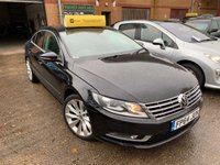 USED 2014 64 VOLKSWAGEN CC 2.0L GT TDI BLUEMOTION TECHNOLOGY DSG 4d 138 BHP