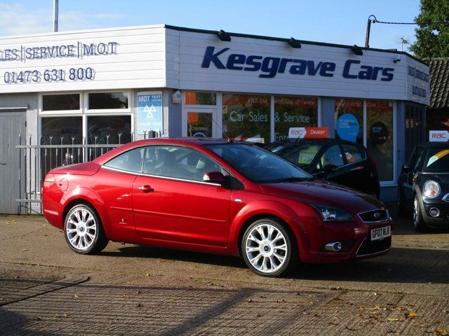 USED 2007 07 FORD FOCUS 2.0 CC3 2d 135 BHP Beautiful Condition, Low Miles